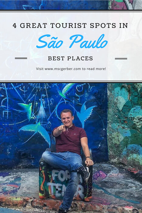 Great tourist spots in Sao Paulo