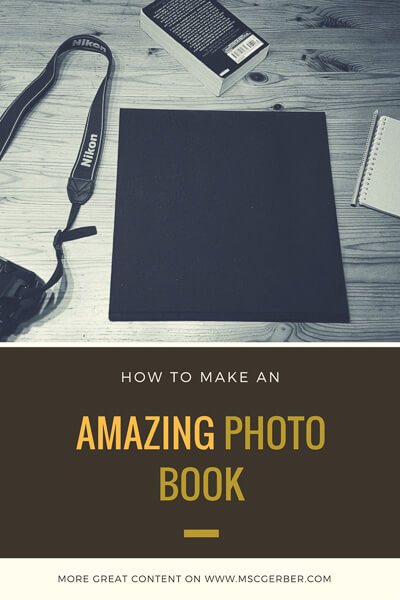 Making a photo book