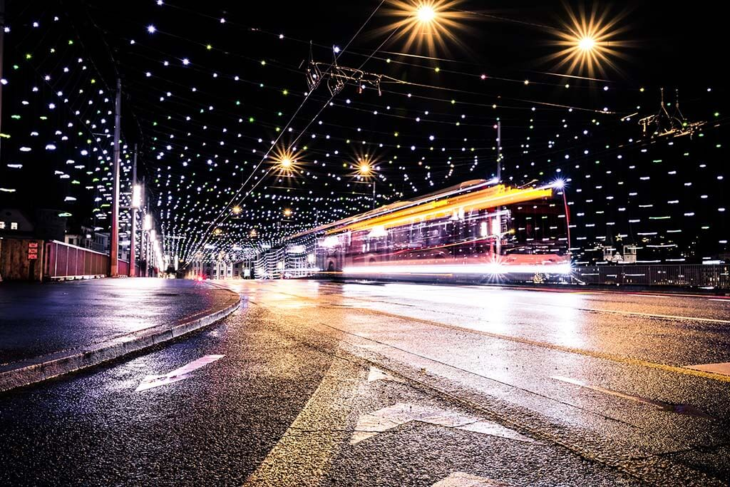 Lucerne during Christmas