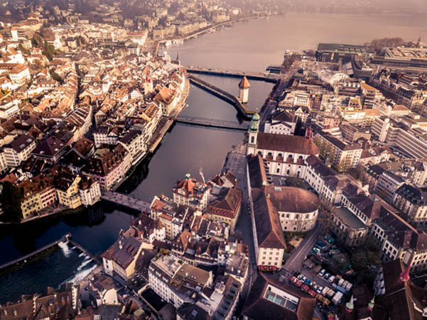 Flying drones in Switzerland, Lucerne