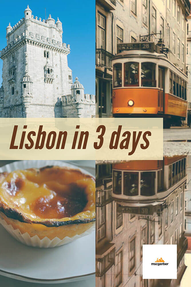 Lisbon in 3 days: Travel Itinerary