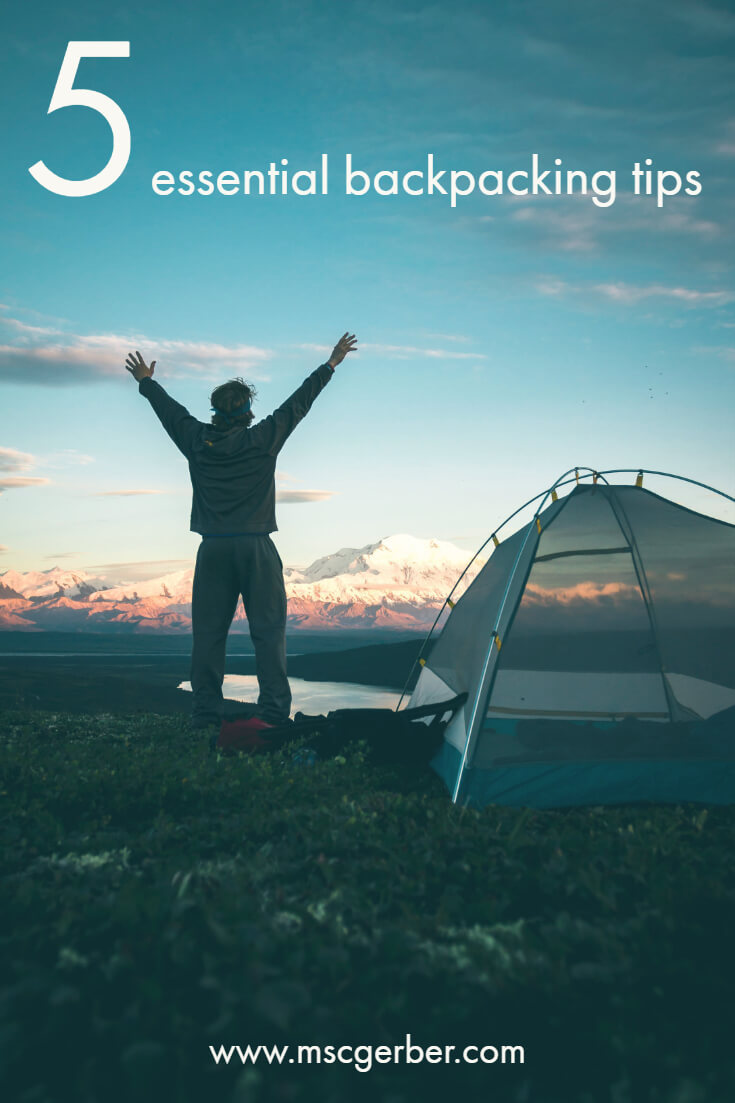 Are you about to start a travel journey as a backpacker? This can be scary but is definitely worth it - especially if it was on your bucket list before! Check out our 5 essential backpacking tips to make your trip easier!