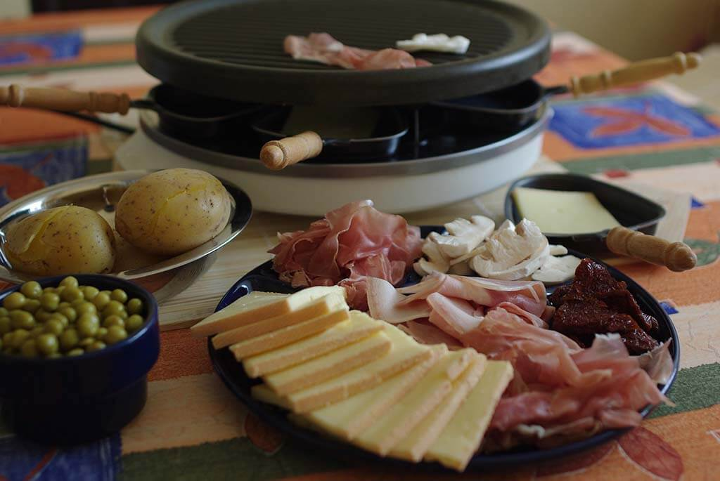 Swiss Raclette in Zermatt
