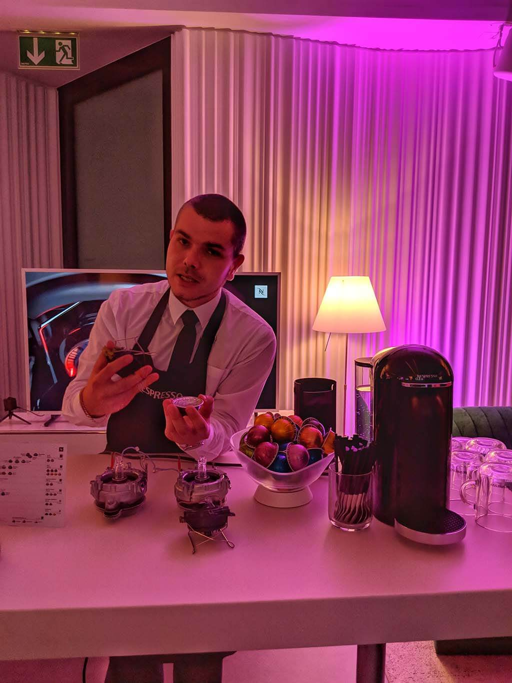 Explaining the new Nespresso Vertuo System
