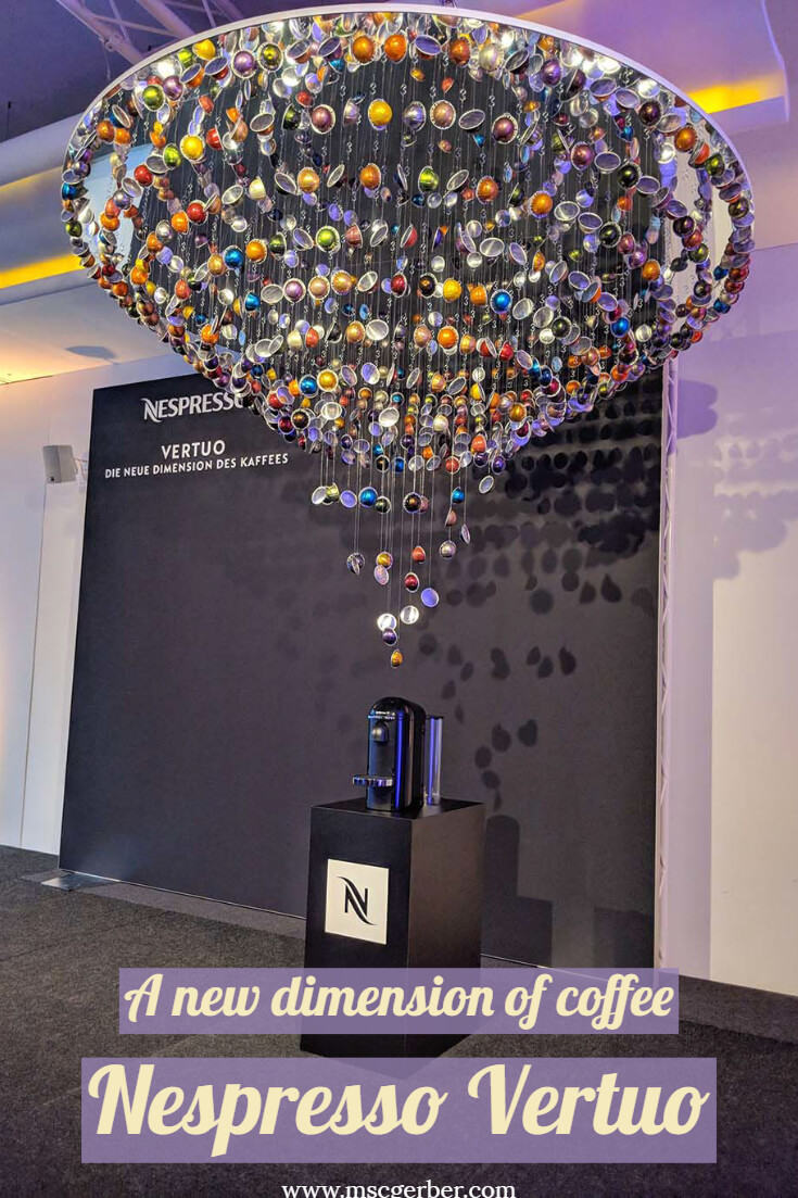 Nespresso launched its new Vertuo line and I had the chance to try out the new dimension of coffee at the launch event in Zurich. Find out more on my latest blog post! P.S: I will also tell you Nespresso's CEO's favorite coffee!