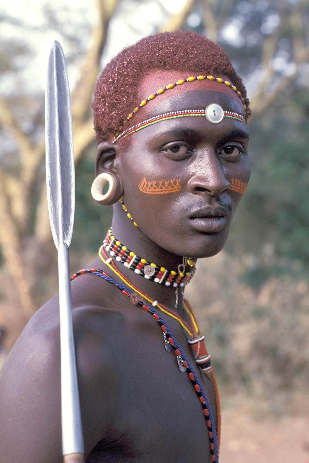 Member of the Samburu tribe
