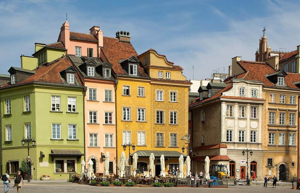 Stroll around Warsaw's Old Town