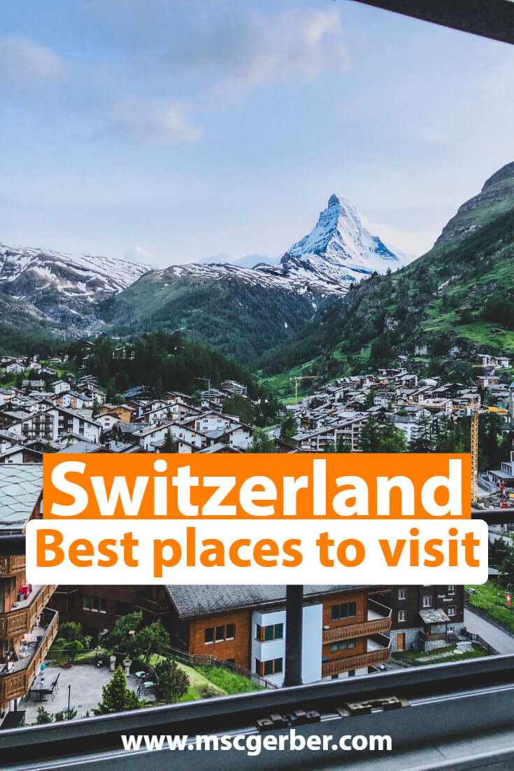 Let me tell you some of the best places to visit in Switzerland: From major tourist attractions to hidden gems for travelers that are looking for a great adventure while traveling in Switzerland.