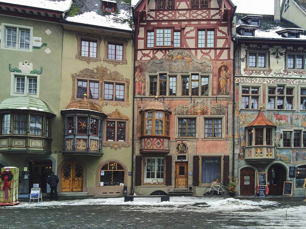 Old Town of Stein am Rhein, Switzerland