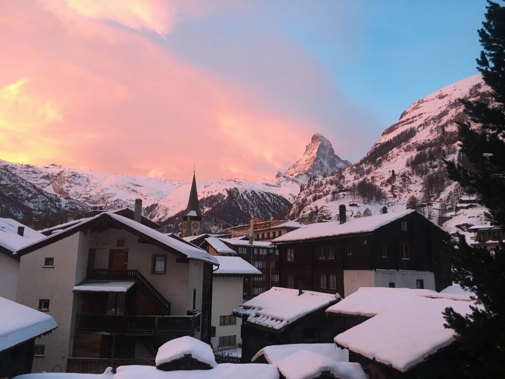 The best places to visit in Switzerland: Zermatt