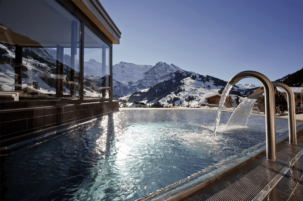 Cambrian, Adelboden in Winter