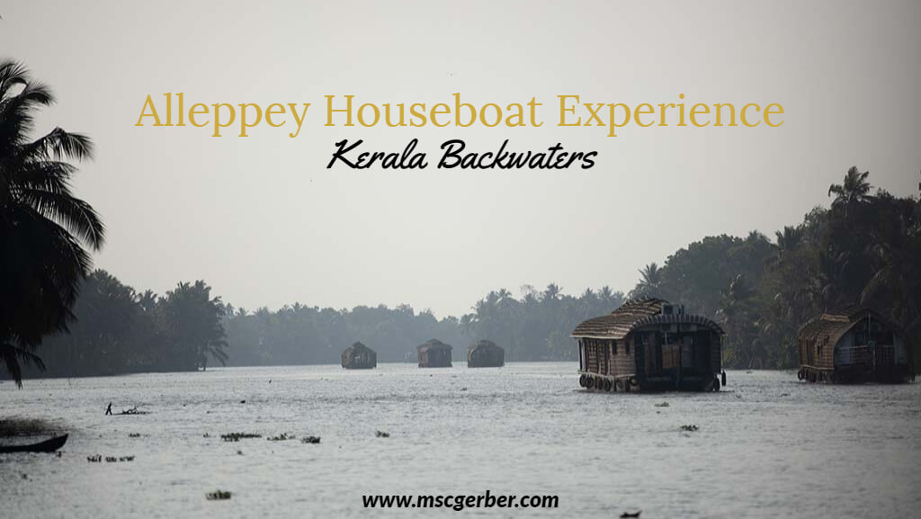 The Alleppey Houseboat Experience on the Kerala BAckwaters