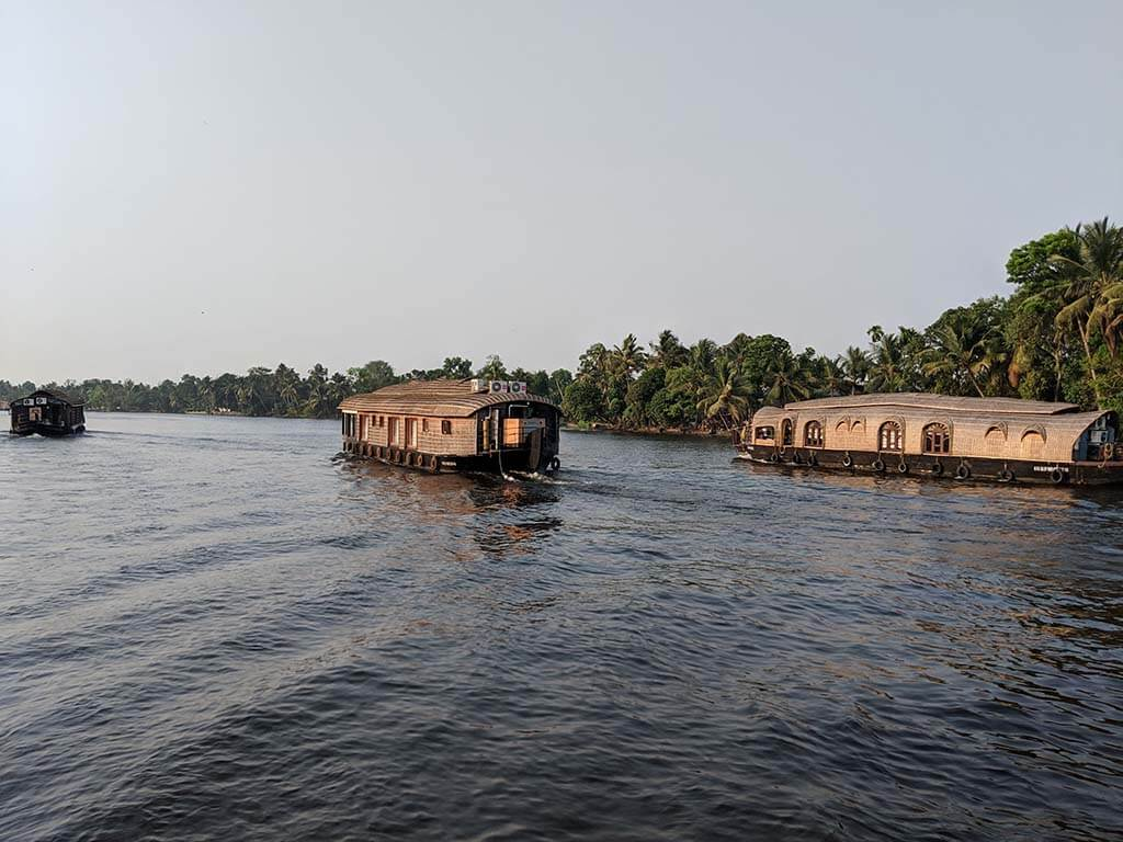 Exploring the Backwaters of Kerala with an Alleppey Houseboat is a must do adventure in Kerala, India
