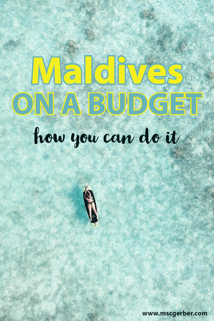 The Maldives are an absolute dream destination - but did you know that it's also possible to travel it on a budget? On my blog you'll find a guide with tips & tricks for budget travelers, backpackers and many more to travel the Maldives on a Budget.