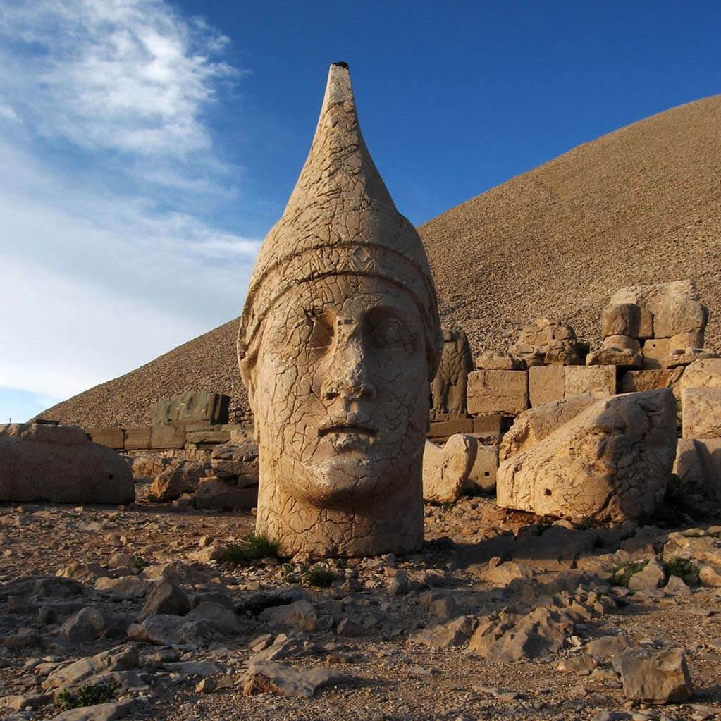 Mount Nemrut God Head, Turkey