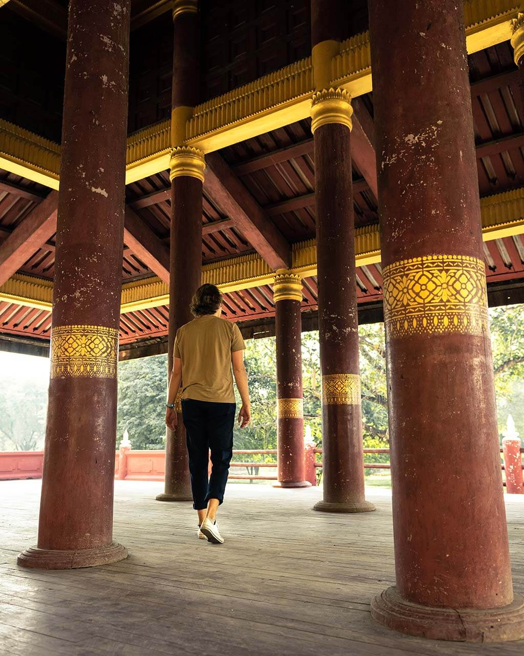 Exploring Mandalay Palace